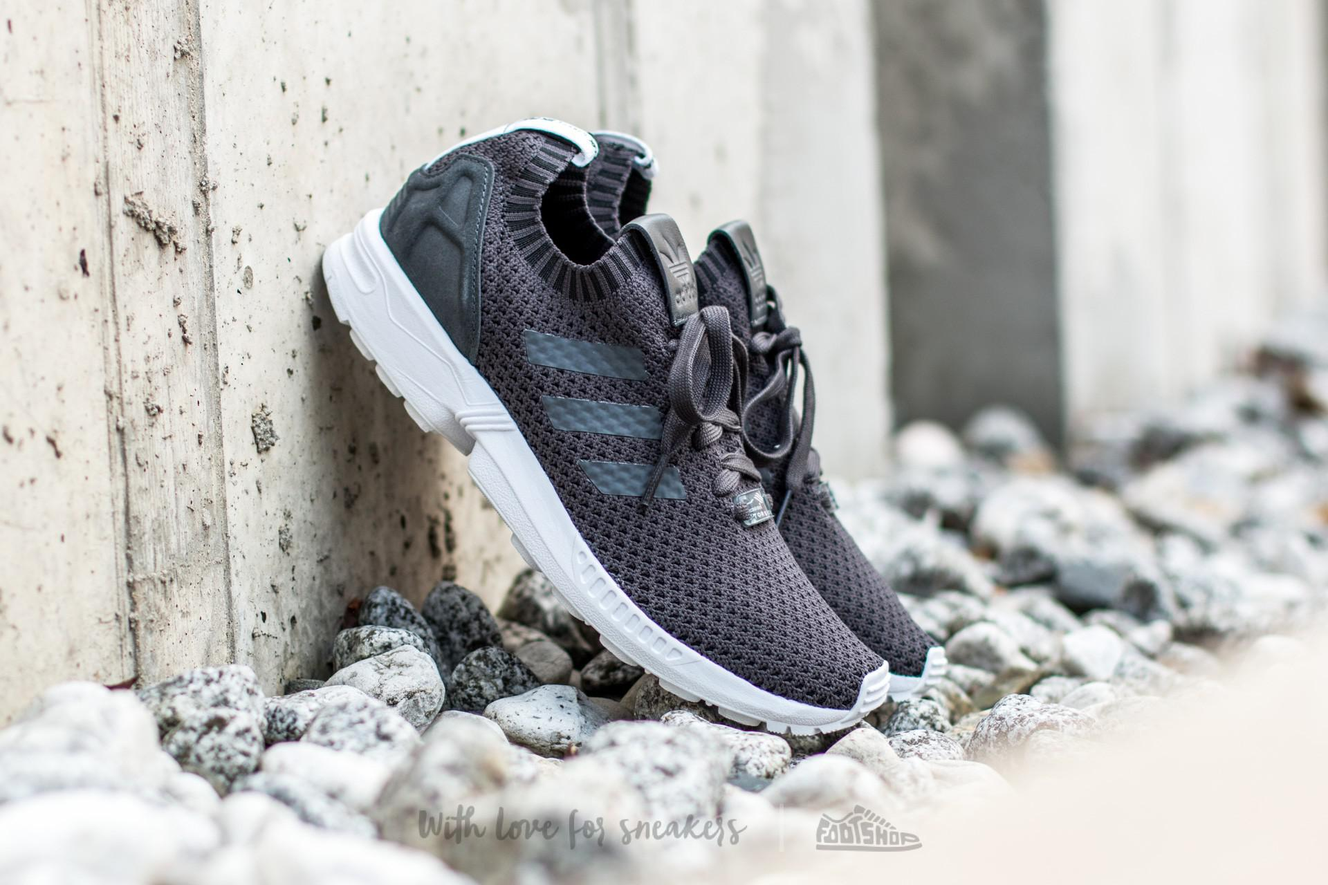 cb6b731be0afd Lyst - adidas Originals Adidas Zx Flux Primeknit Dgh Solid Grey  Dgh ...
