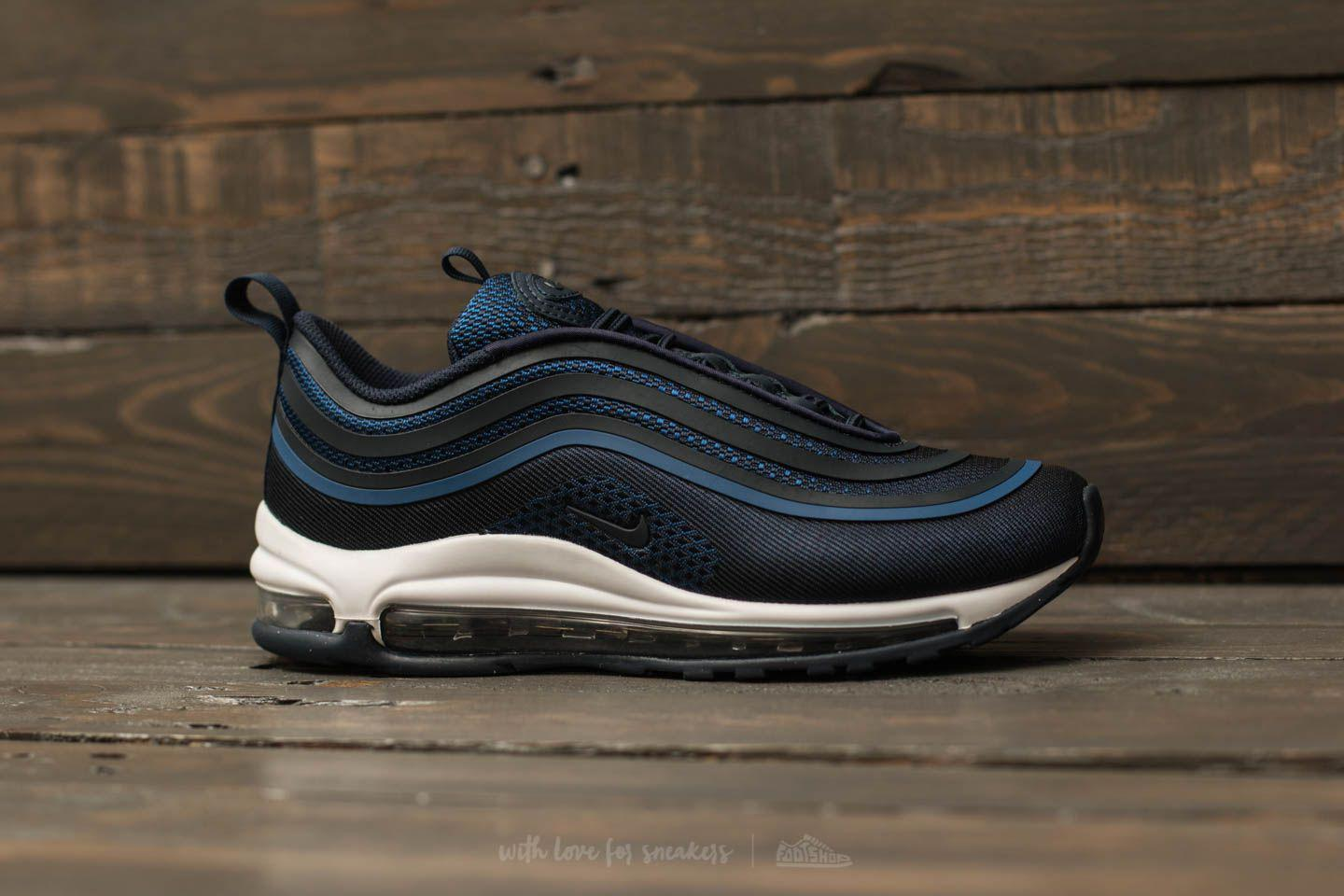 best sneakers 0a025 98c2f Nike Air Max 97 Ul 17 (gs) Gym Blue  Obsidian-summit White in Blue ...