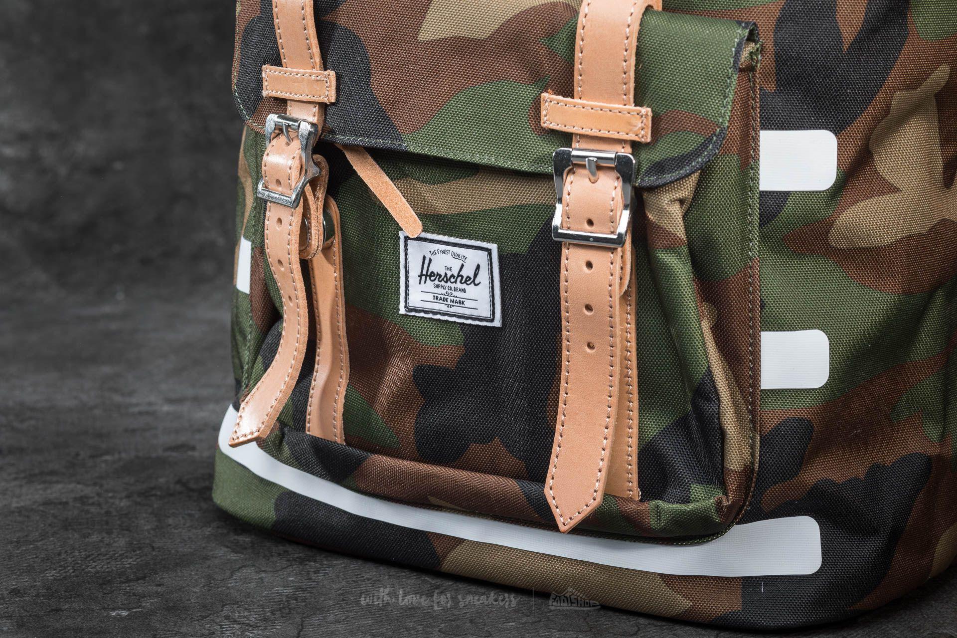 326a1163a08 Lyst - Herschel Supply Co. Little America Backpack Woodland Camo ...