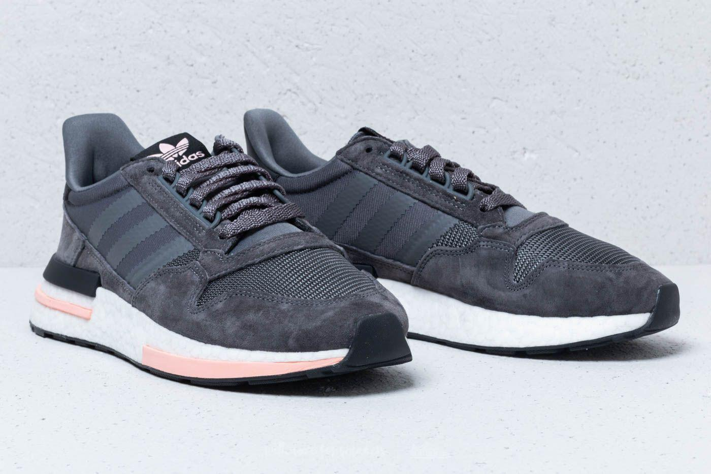 cbe901ee42bf Adidas - Gray Zx 500 Rm Shoes - Lyst. View fullscreen