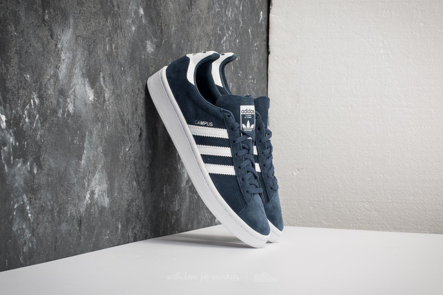 adidas Originals. Women's Adidas Campus W Mineral Blue/ Ftw White/ ...