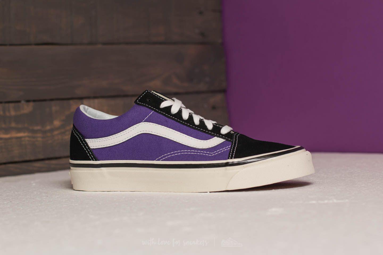 e8130d91e8 Lyst - Vans Old Skool 36 Dx (anaheim Factory) Black  Bright Purple ...