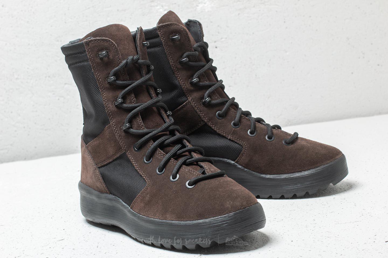 68c20daed4df4 Lyst - Footshop Yeezy Season 7 Military Boot Oil in Black for Men