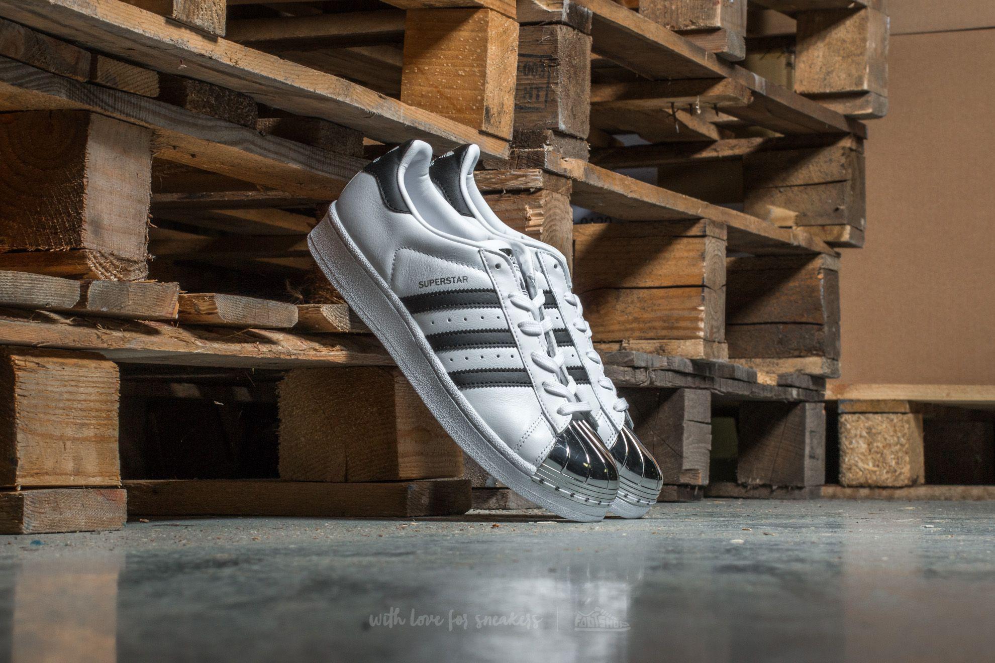 lyst adidas originals adidas superstar aus der w ftw weiße / kern