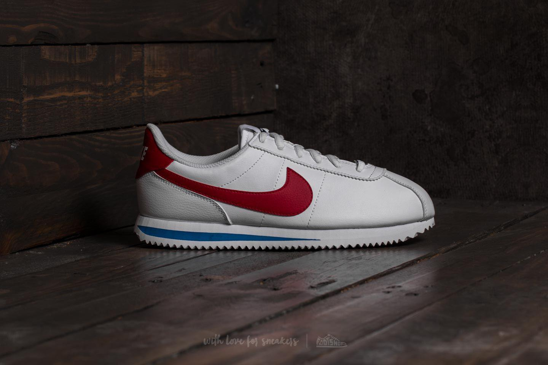 Lyst - Nike Cortez Basic Sl (gs) White  Varsity Red e9ce9b1d1