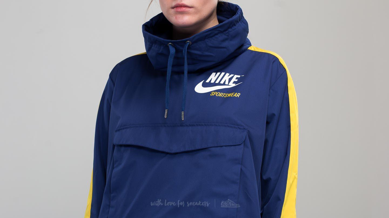 344a2c327f73 Lyst - Nike Sportswear Archive Pullover Jacket Blue  Yellow in Blue
