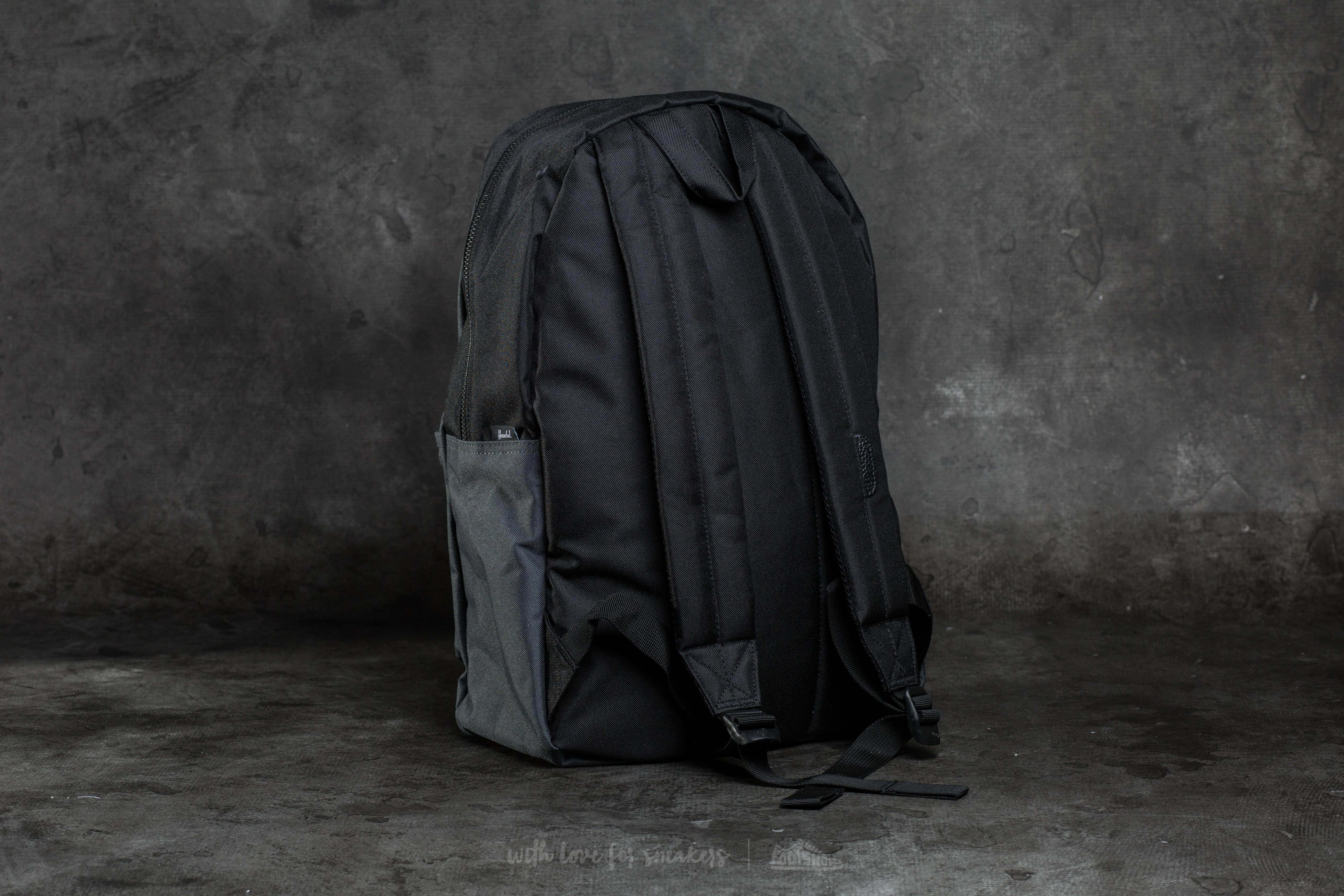 98ab65b0b5 Lyst - Herschel Supply Co. Settlement Backpack Dark Shadow  Black in ...