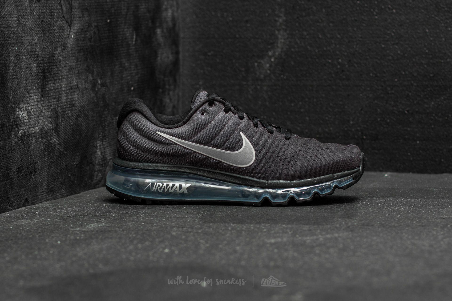 huge selection of f81e2 7d7fb Lyst - Nike Air Max 2017 (gs) Black  Summit White-anthracite in Black
