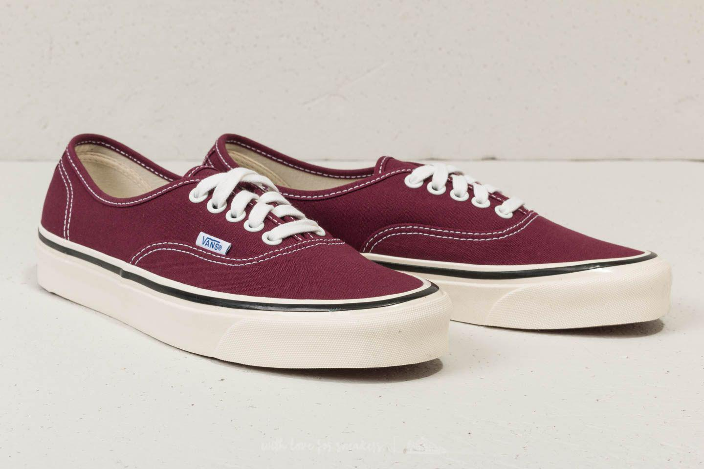 592de736e94 Lyst - Vans Authentic 44 Dx (anaheim Factory) Og Burgundy  Off White ...