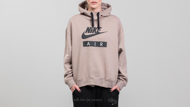 c19ba1fd4aa2 Lyst - Nike Sportswear Air Hoodie Sepia Stone  Black