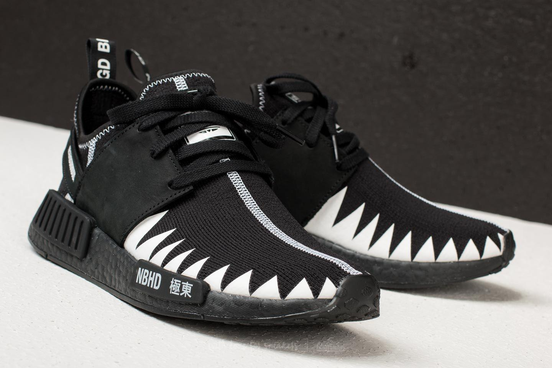 reputable site 476c4 0ca8e Originals X R1 Black Adidas Primeknit Neighborhood Nmd Lyst vEw5xqw