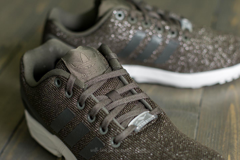 059232c0b Lyst - adidas Originals Adidas Zx Flux W Utility Grey  Utility Black ...