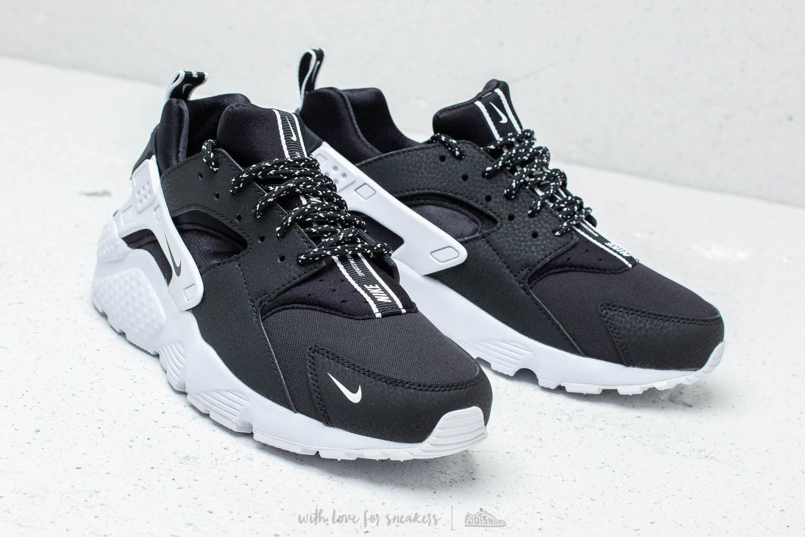 d1395e3d2137 Lyst - Nike Huarache Run Se (gs) Black  Black-white in Black