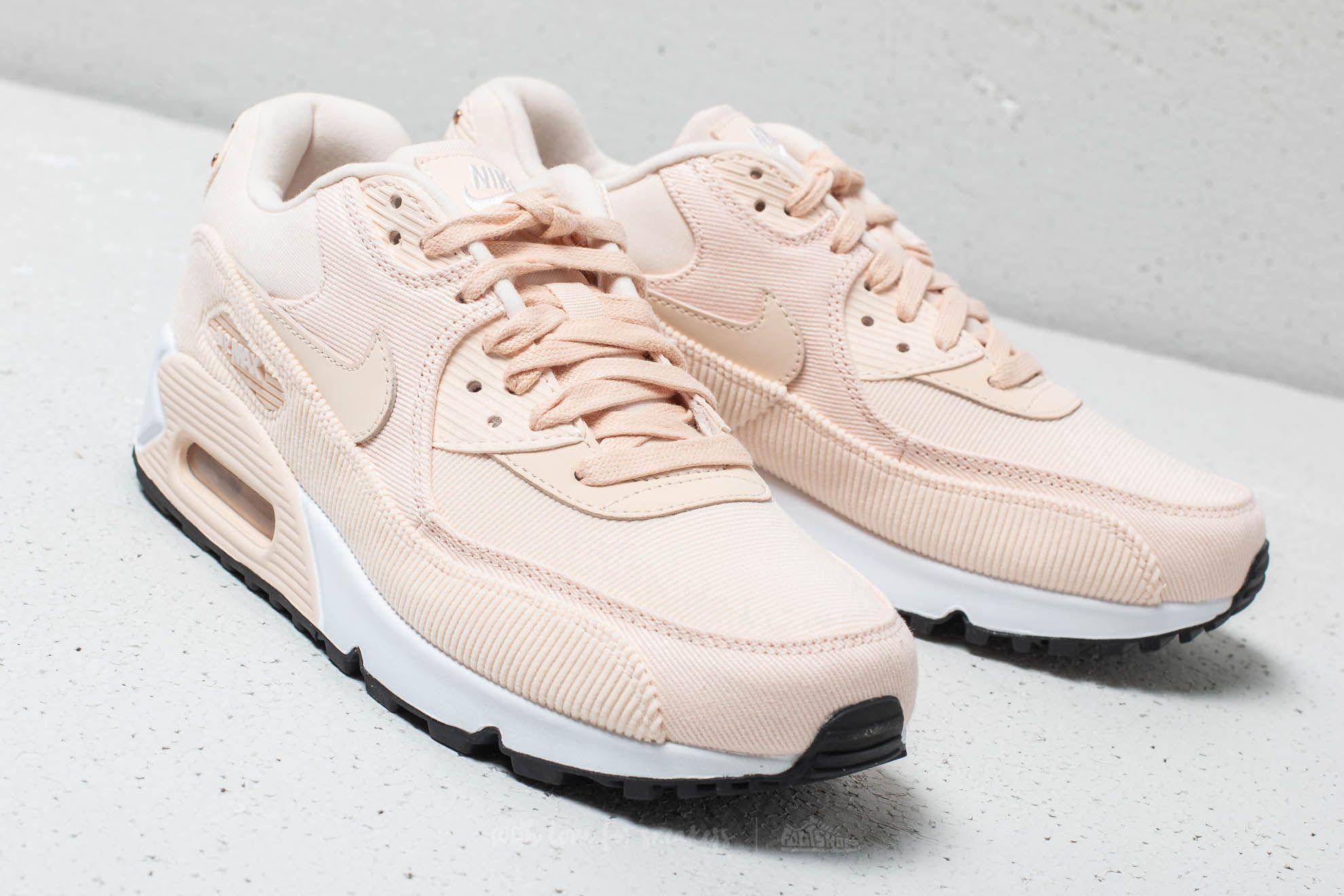 best website 25411 1050d Nike Wmns Air Max 90 Lea Guava Ice  Guava Ice-black - Lyst