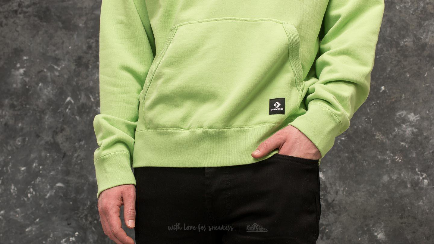 Lyst Converse Golf Le Fleur Pullover Hoodie Jade Lime In Green For Men