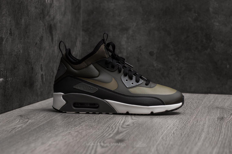 new photos 27137 fff36 Nike Air Max 90 Ultra Mid Winter Sequoia/ Medium Olive-black in ...