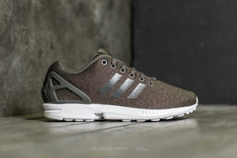 26aa90e2a ... discount code for lyst adidas originals adidas zx flux w utility grey  utility black 90b76 3c4f3