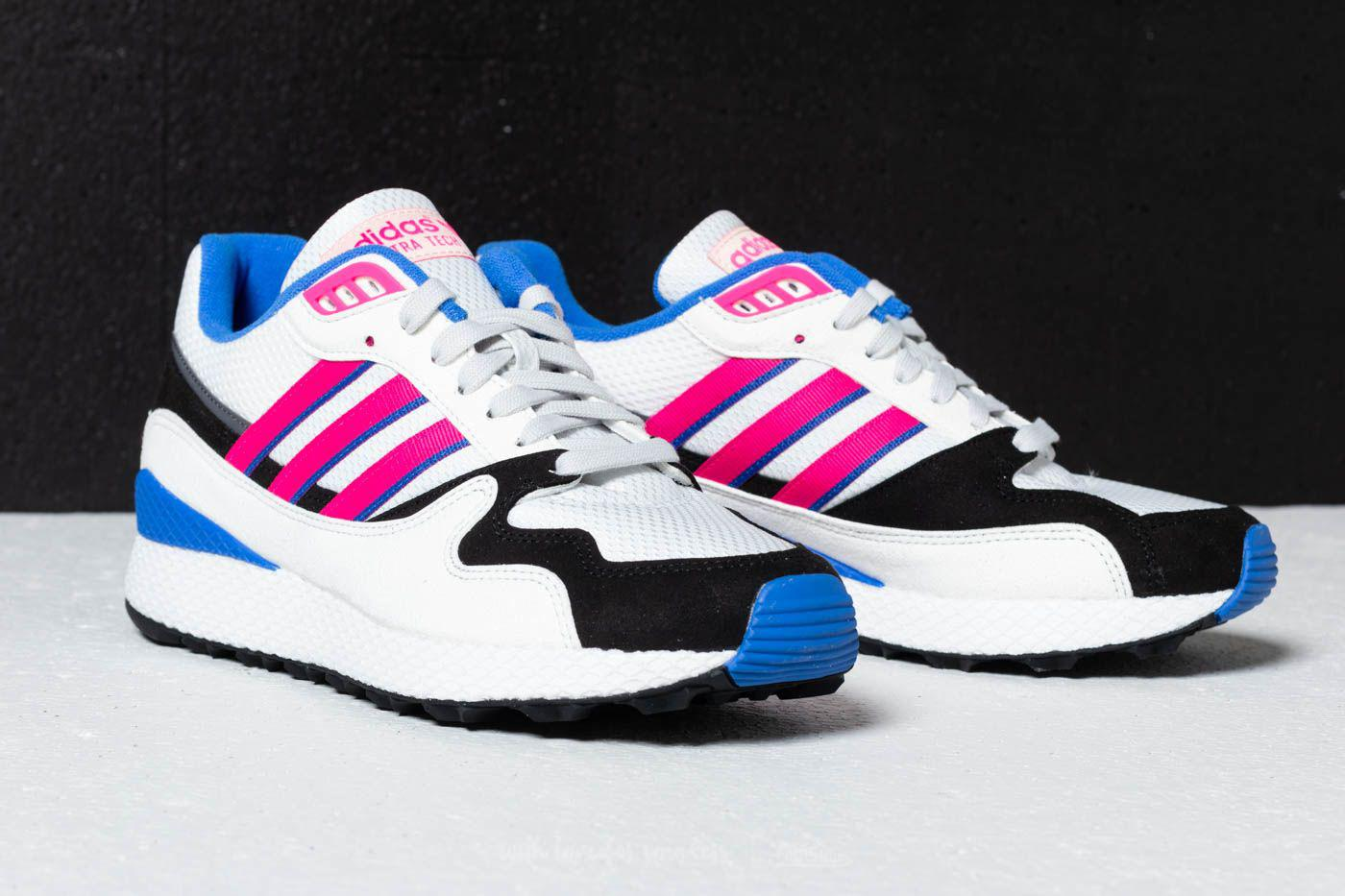 2a6a59dcc6ad3 Lyst - adidas Originals Adidas Ultra Tech Crystal White  Shock Pink ...