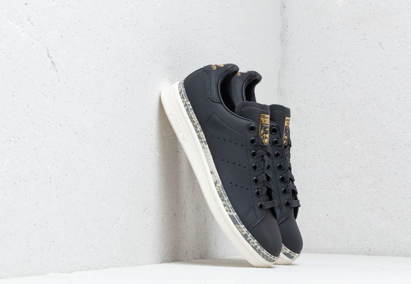 3275e61db7b0d5 Lyst - adidas Originals Stan Smith New Bold Shoes in Black