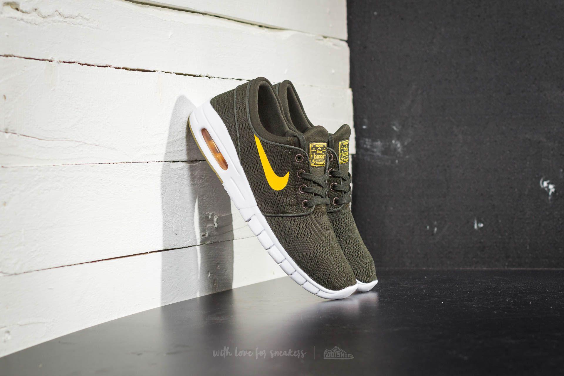 3eef4565da Nike Stefan Janoski Max Sequoia/ Circuit Orange for Men - Lyst