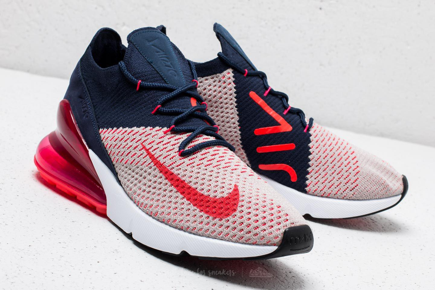 568de3add6177 nike air max 270 red orbit Lyst - Nike Wmns Air Max 270 Flyknit Moon  Particle