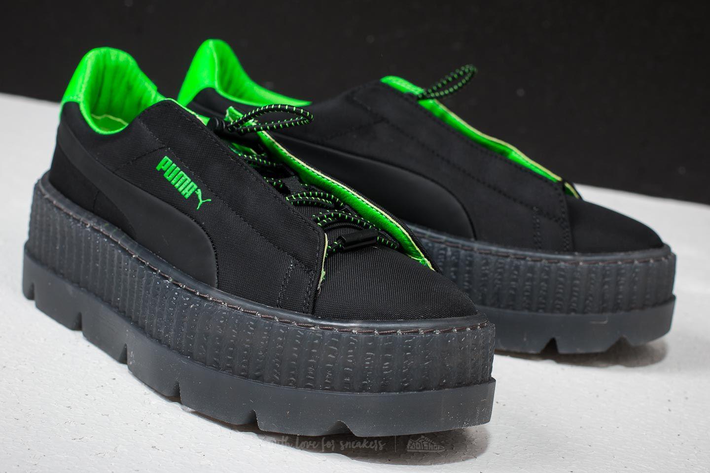 4c3a4b72a64 Footshop Puma Fenty X Rihanna Cleated Creeper Surf Wn ́s Puma Black ...