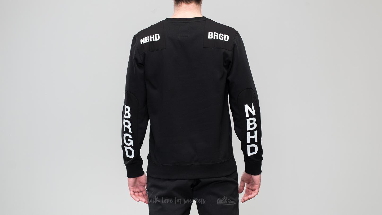 73cc3181 adidas Originals Adidas X Neighborhood Commander Sweater Black in ...