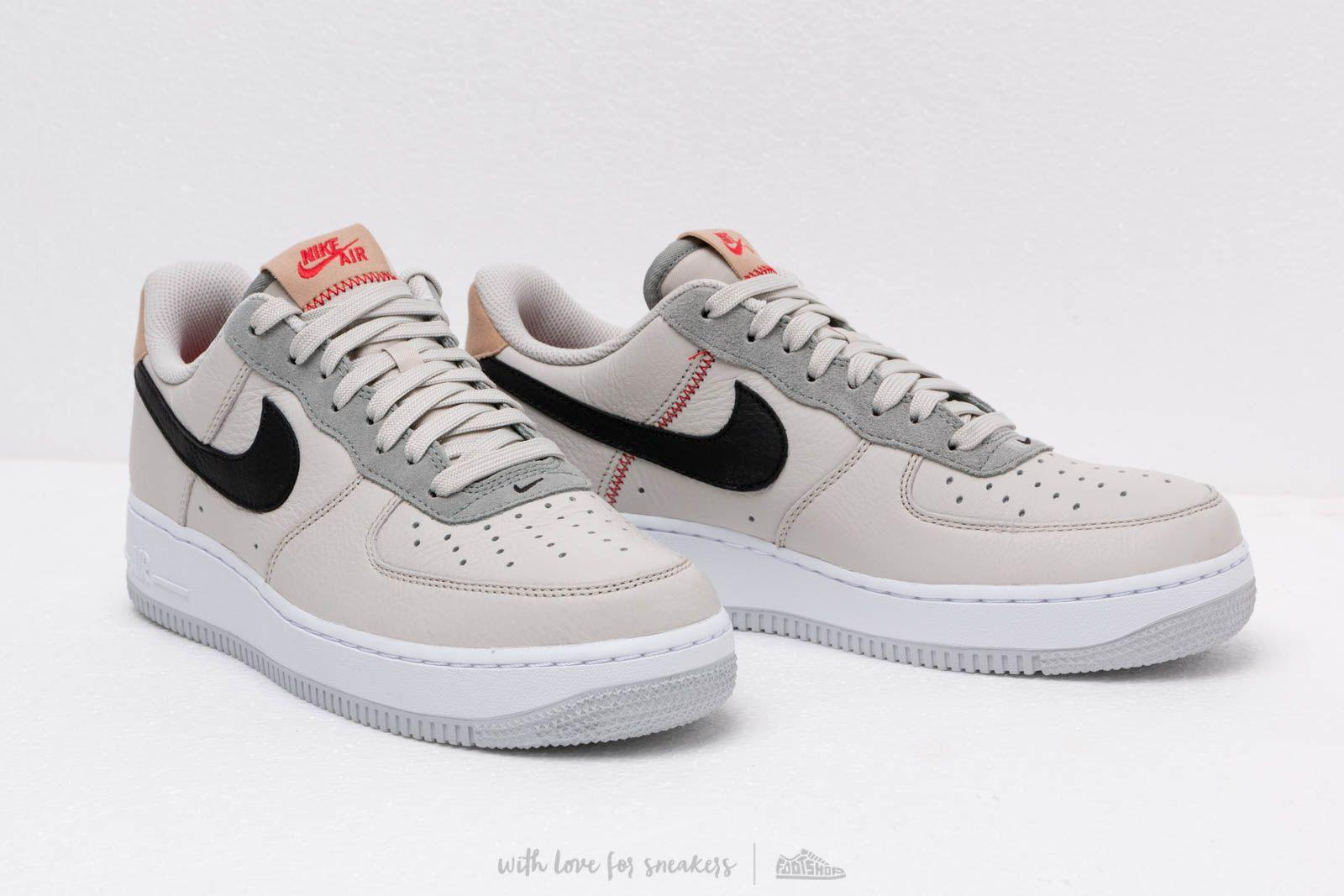 sale retailer dac6c 35d20 Lyst - Nike Air Force 1 07 Light Bone Black-mica Green in Gr