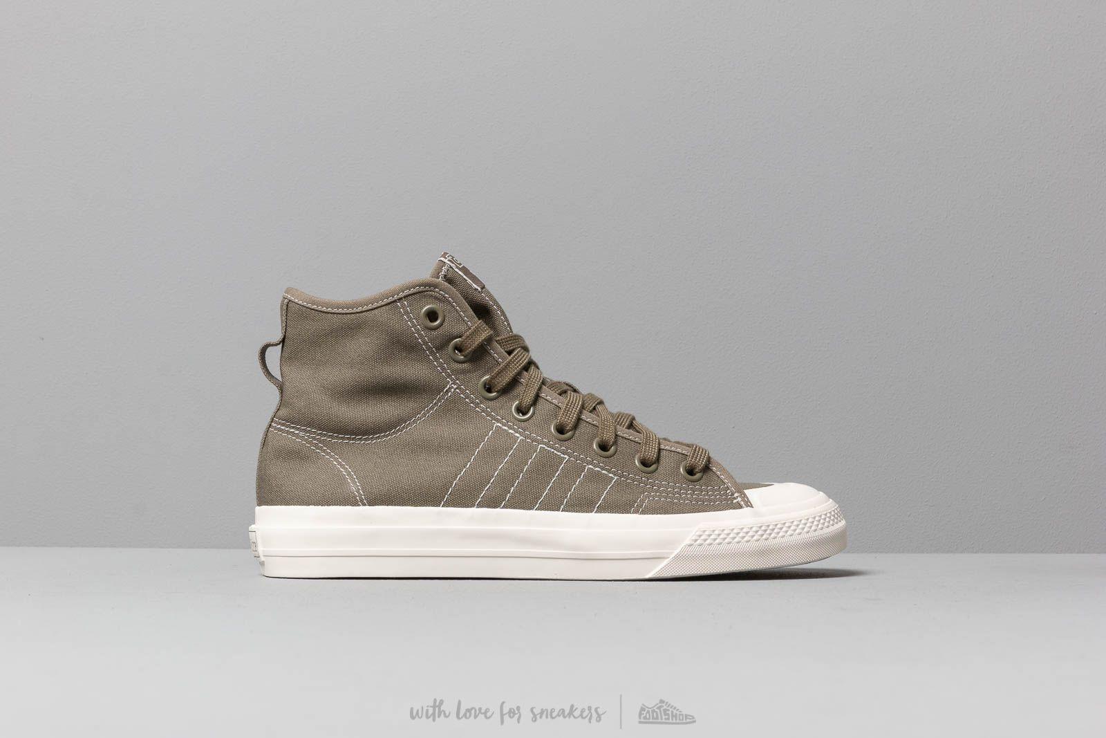 39ec0d582433 Lyst - adidas Originals Adidas Nizza Hi Rf Rawkha  Off White  Off ...