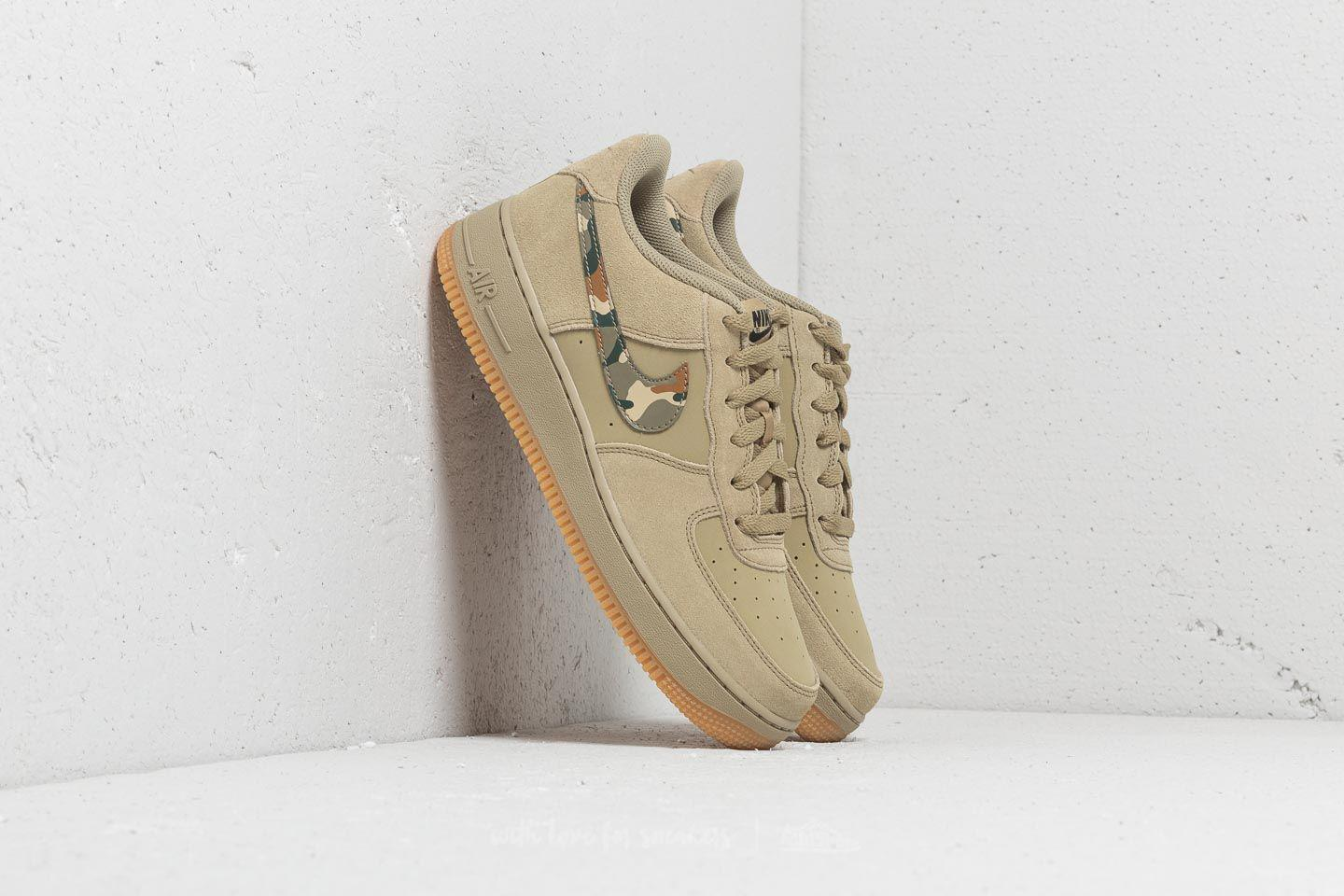 best website db981 47025 Nike Air Force 1 (gs) Neutral Olive  Black - Lyst