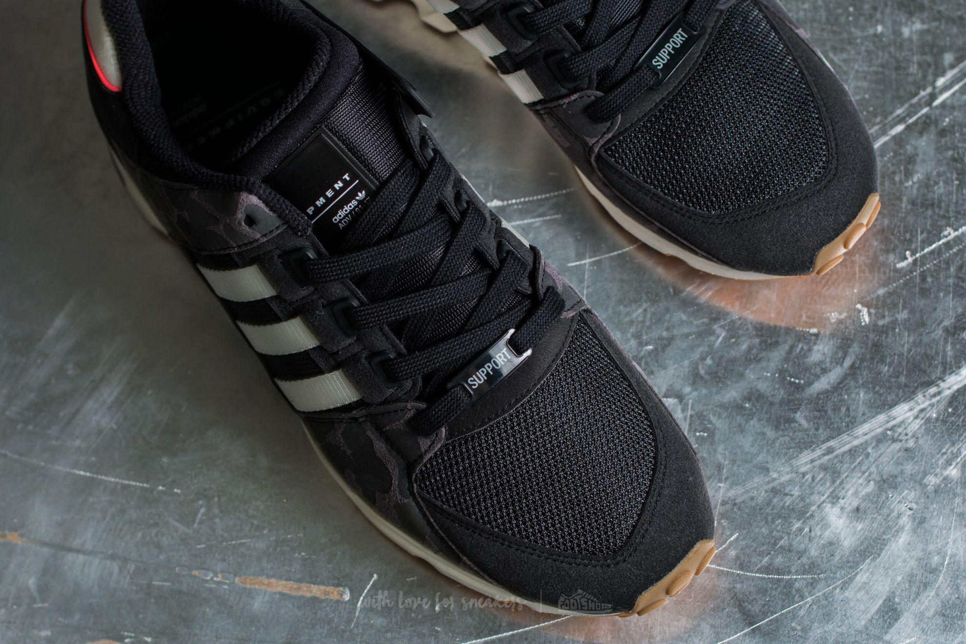 reputable site f2820 ccf68 Lyst - adidas Originals Adidas Eqt Support Rf Core Black Off