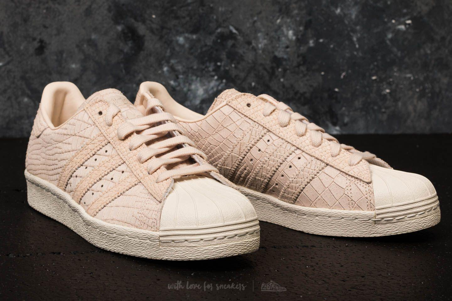 adidas Superstar 80s W Linen/ Linen/ Off White
