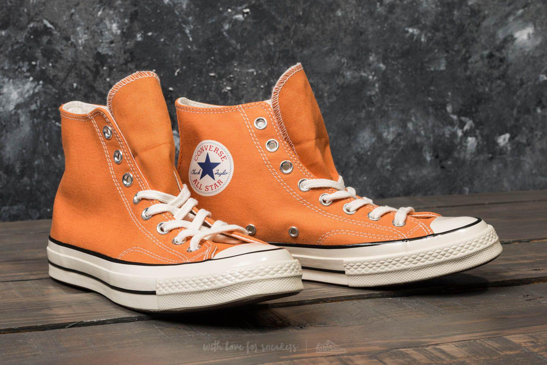 ... wholesale lyst converse chuck taylor all star 70 hi tangelo black egret  in cd4eb 1e713 d720c8d98