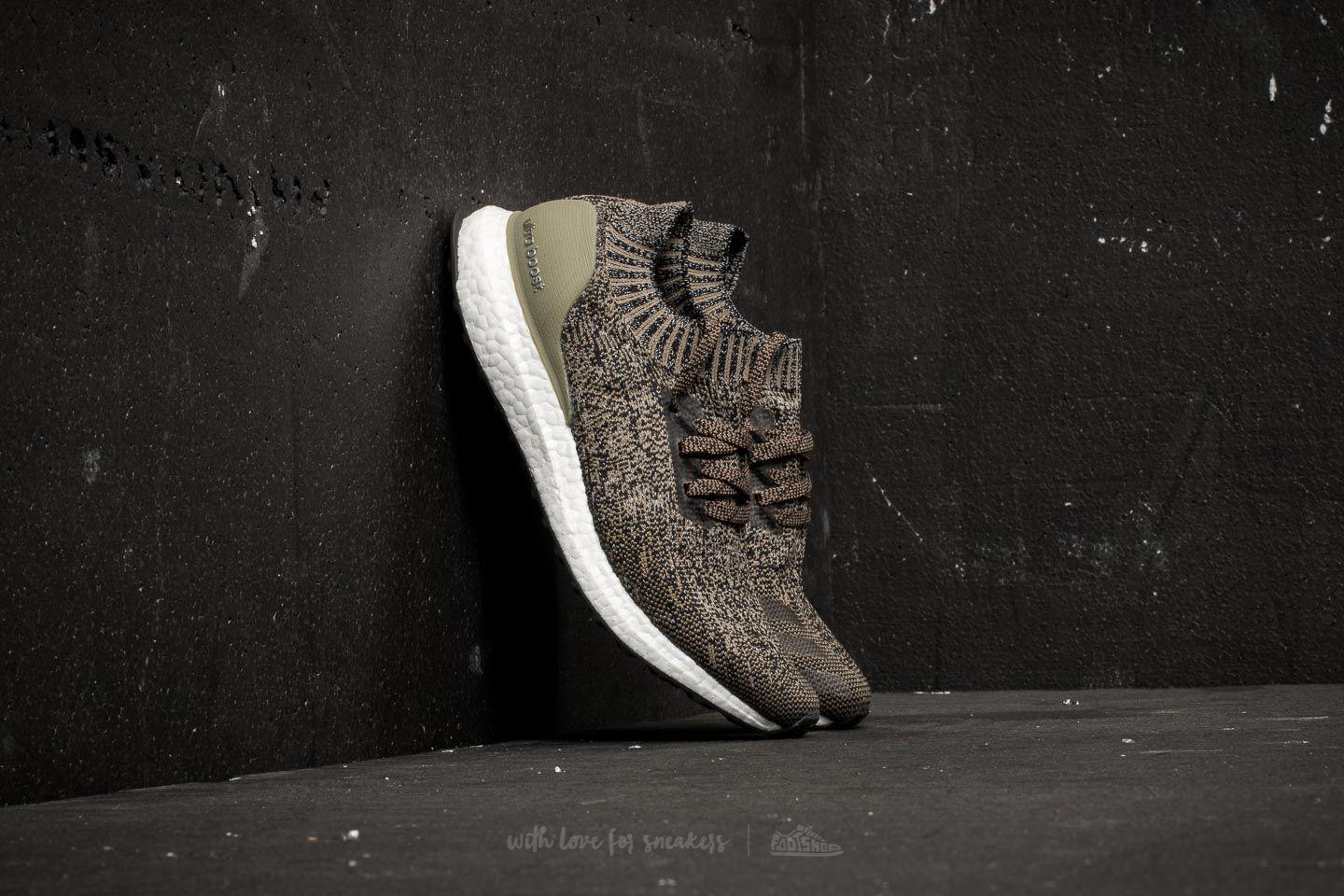 low priced 2e9a2 bd375 Footshop Adidas Ultraboost Uncaged Trace Cargo  Core Black  Chalk ...