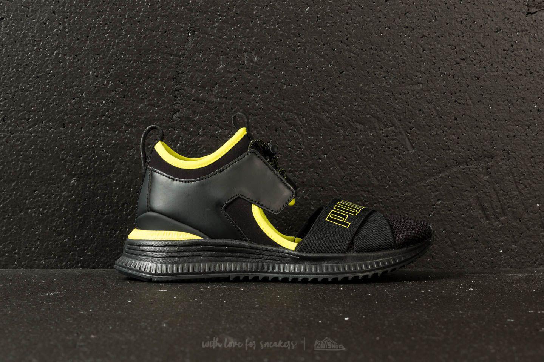 0ca9a488204bce Footshop - Puma Fenty X Rihanna Avid Wns Puma Black-limepunch-black - Lyst.  View fullscreen
