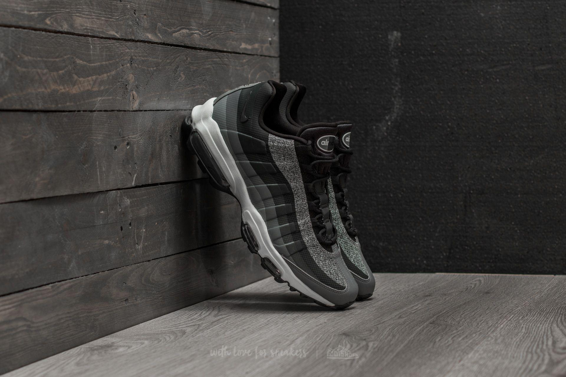 Lyst - Nike Air Max 95 Ultra Essential Black  Black-anthracite in ... 872100e37f1f