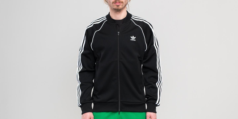 quality design acaa6 3cb11 adidas Originals. Men s Adidas Superstar Track Top Black
