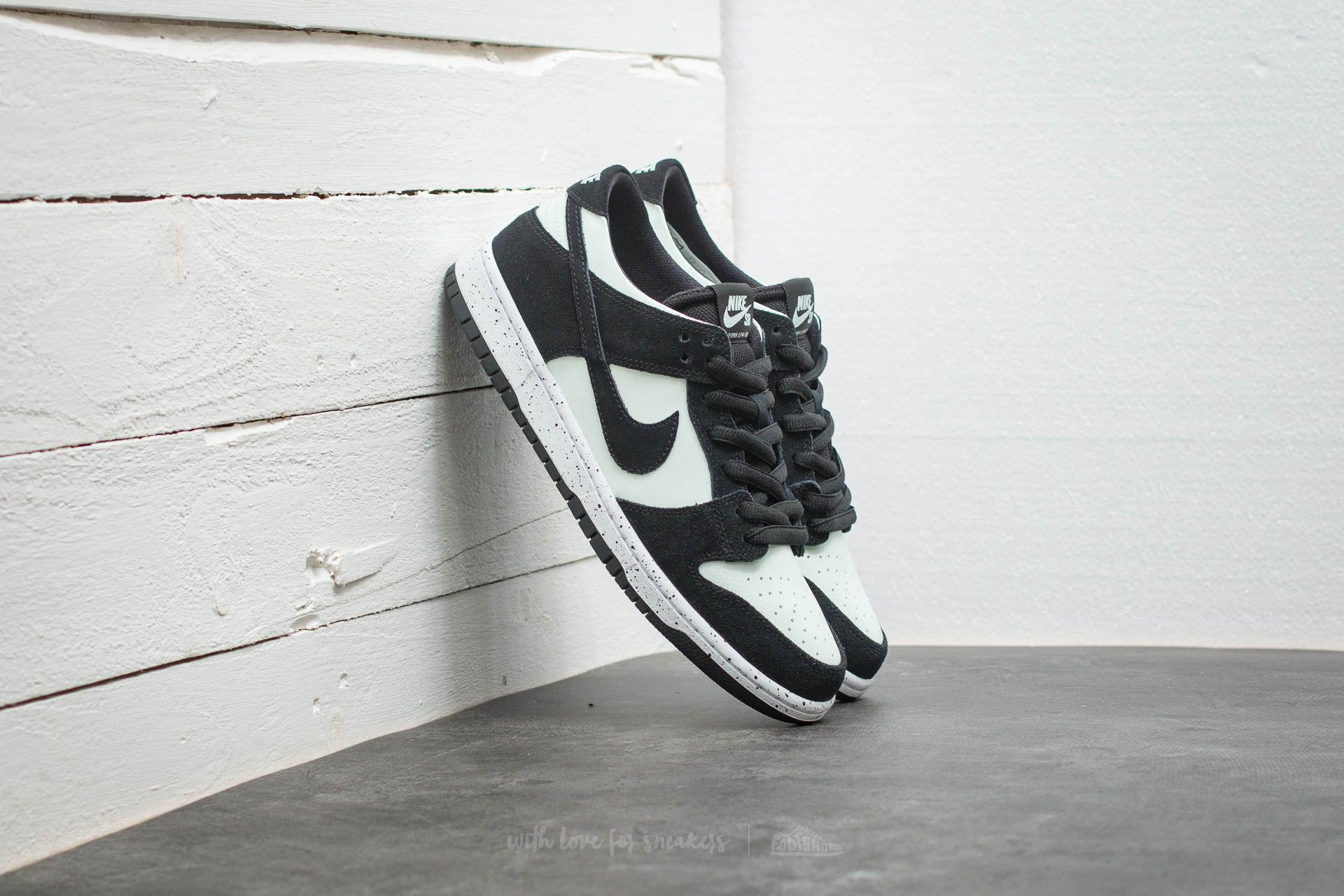 1b2d00770663e Lyst - Nike Sb Zoom Dunk Low Pro Black  Black-barely Green-white in ...