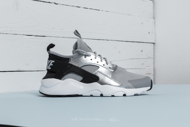 wholesale dealer ffc53 8614a Lyst - Nike Air Huarache Run Ultra Gs Black  Wolf Grey in Gray for Men