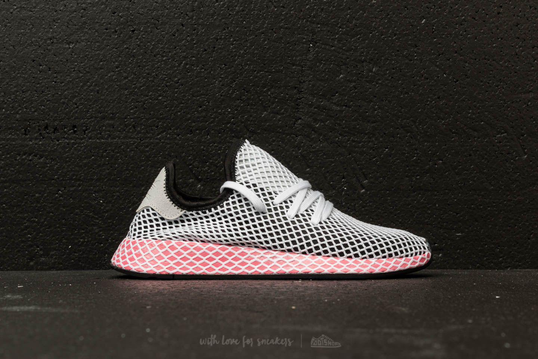 huge selection of 1ad64 d017c Lyst - adidas Originals Adidas Deerupt Runner W Core Black  Core ...