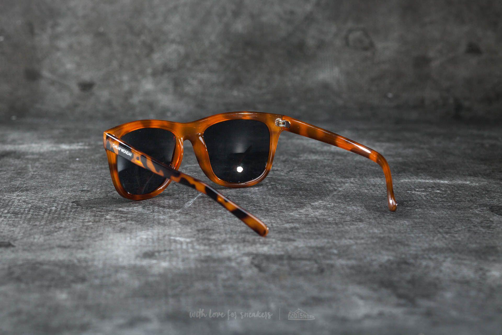 f29e6ace842 Lyst - Footshop Cheap Monday Timeless Sunglasses Prison Turtle Brown ...