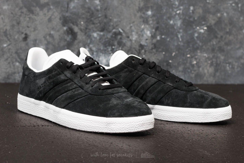 buy online b4335 e9f0e Lyst - adidas Originals Adidas Gazelle Stitch And Turn Core Black ...