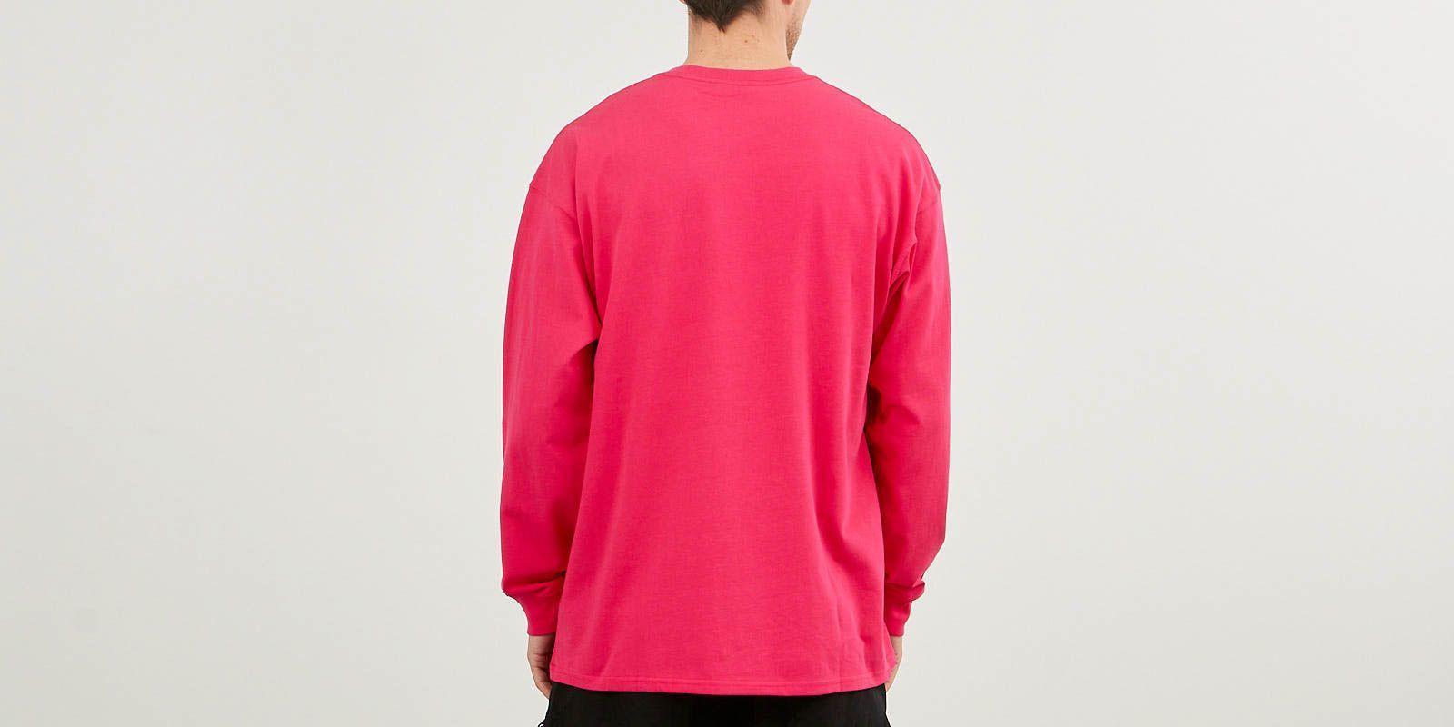 24773a25 Nike - Acg Long Sleeve Logo Tee Nrg Rush Pink/ Black for Men - Lyst. View  fullscreen