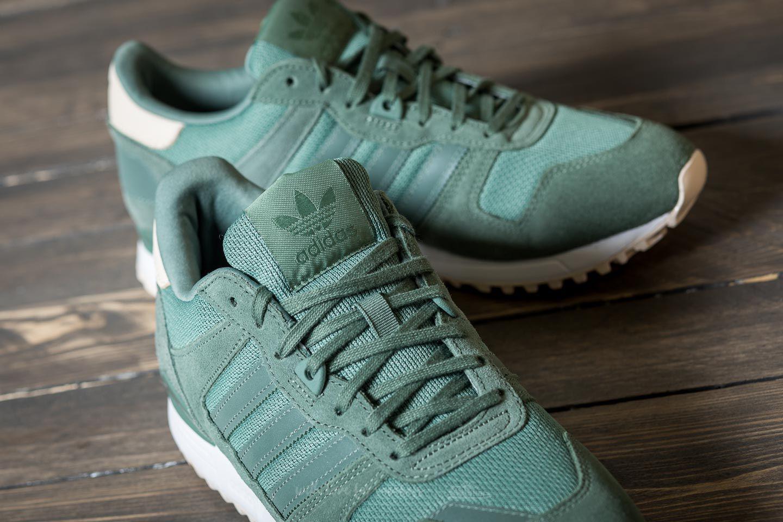 online store 46542 79bda best price lyst adidas originals adidas zx 700 w green white in green for  men 91aef