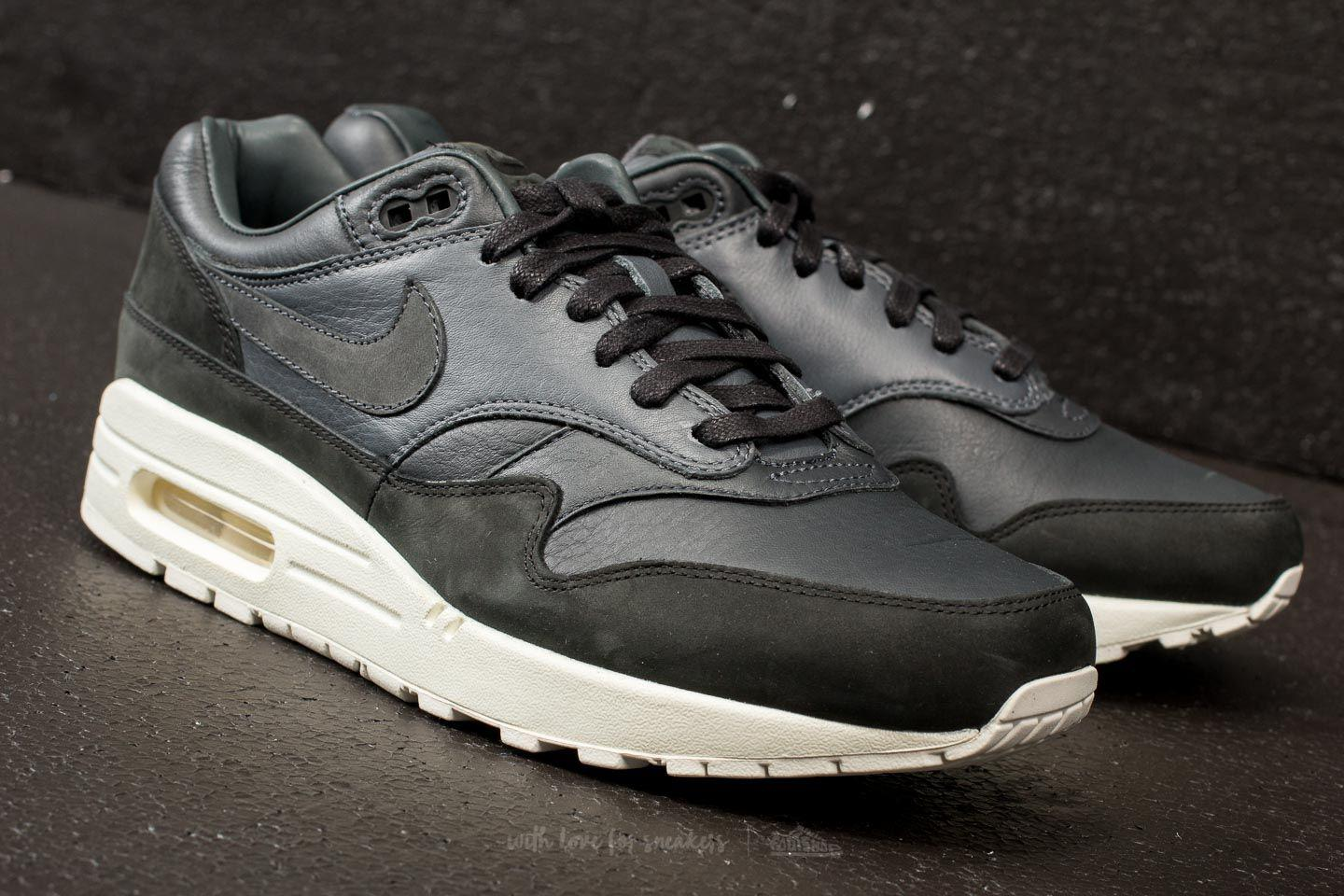 pretty nice 6ffe7 3fe48 Lyst - Nike Lab Air Max 1 Pinnacle Black Anthracite-dark Gre