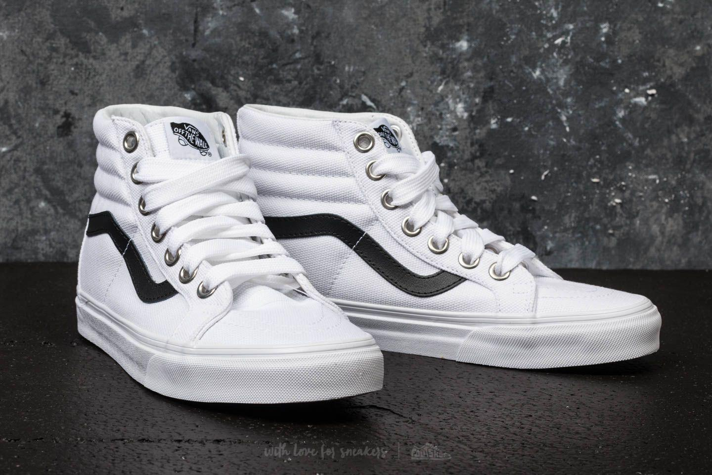 70b47a3a92b7f1 Lyst - Vans Sk8-hi Reissue (oversized Lace) True White for Men