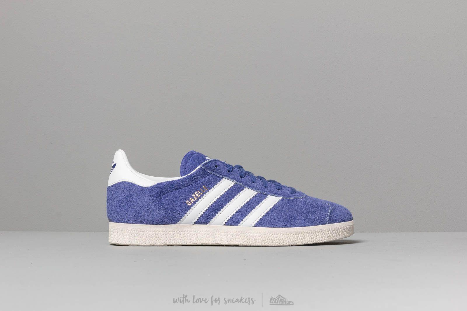 30c3c91d7 ... Adidas Gazelle Active Blue  Ftw White  Off White for Men. View  fullscreen