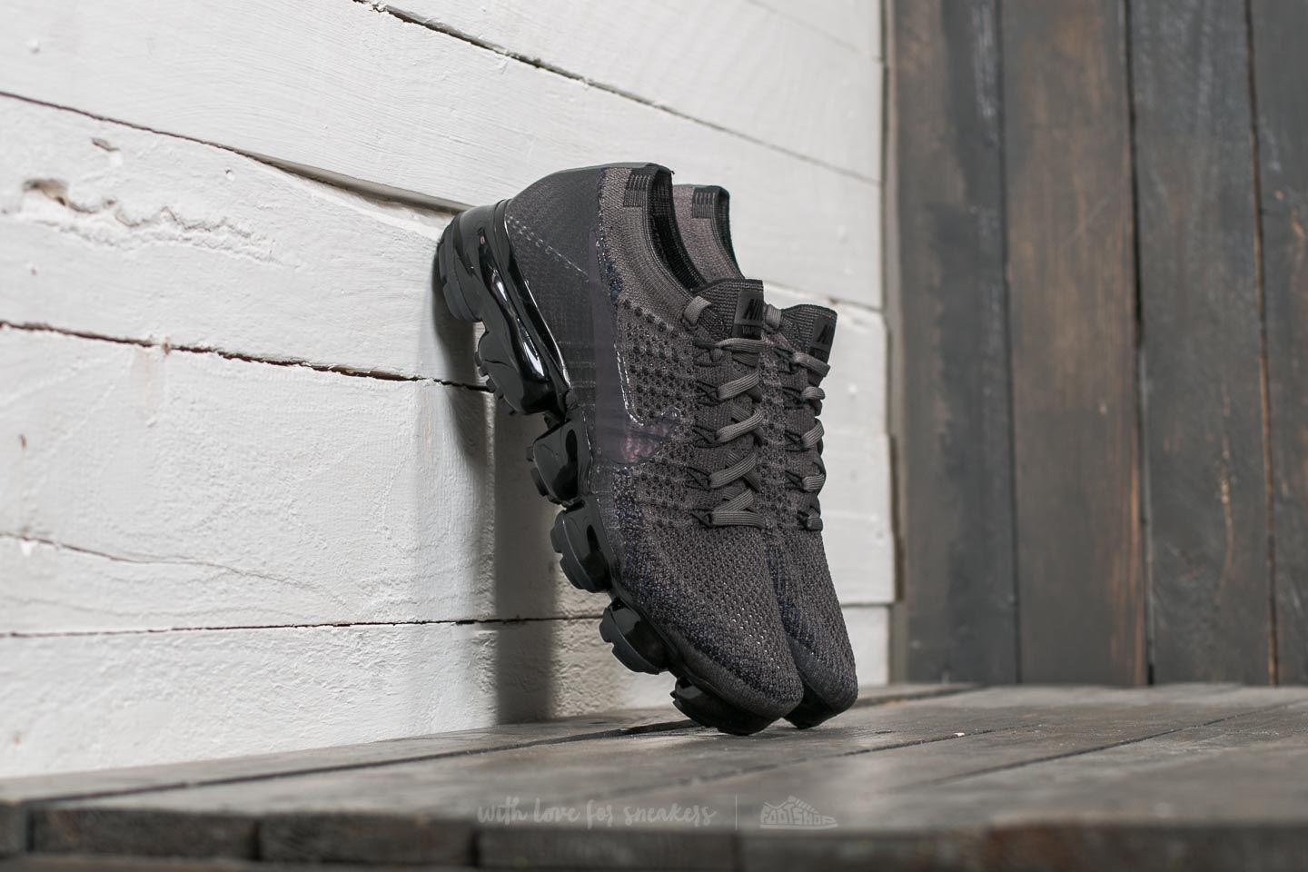 8372f57a3a Nike Wmns Air Vapormax Flyknit Midnight Fog/ Multi-color-black in ...