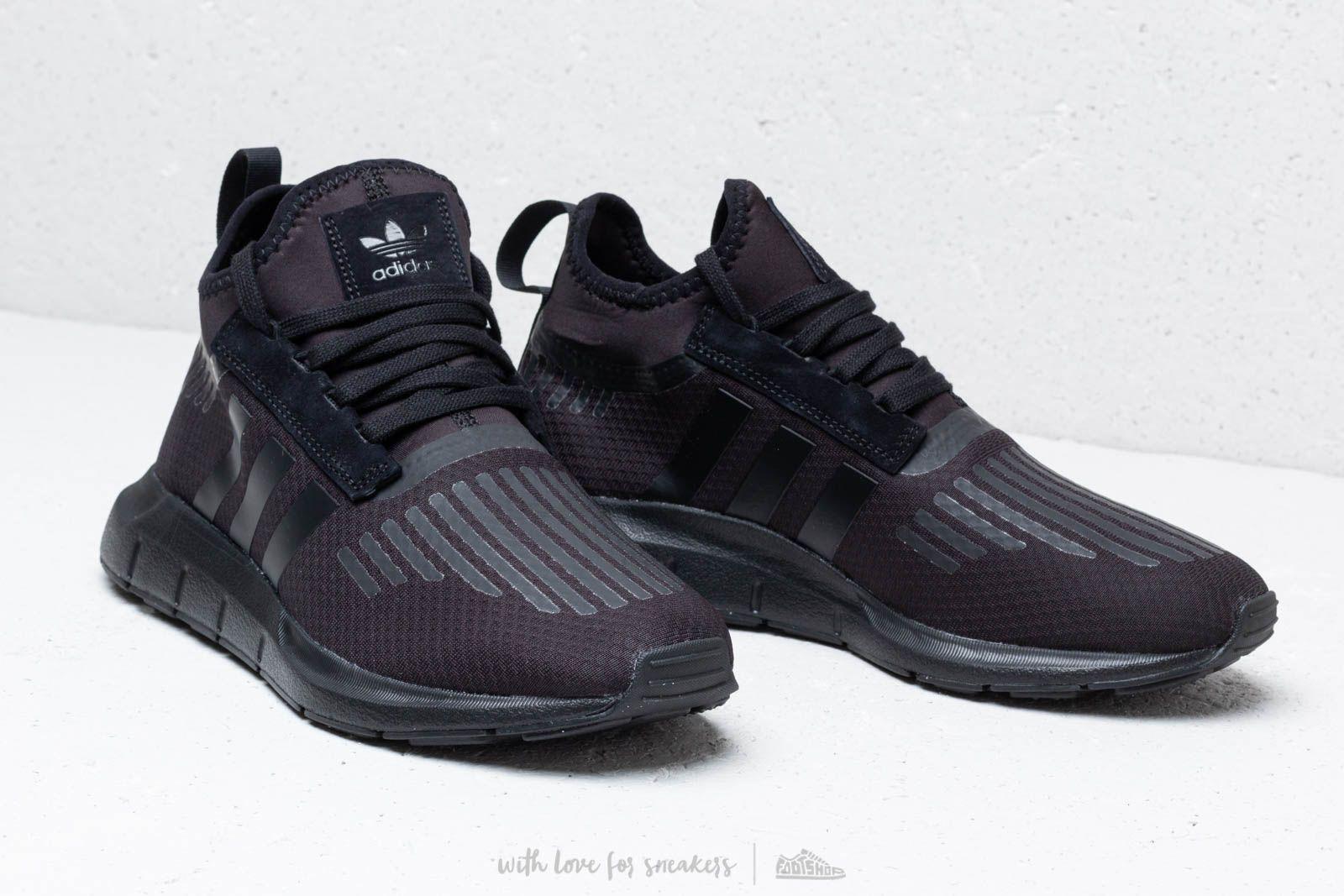 12b29a9b59913 Lyst - adidas Originals Adidas Swift Run Barrier Core Black  Core ...