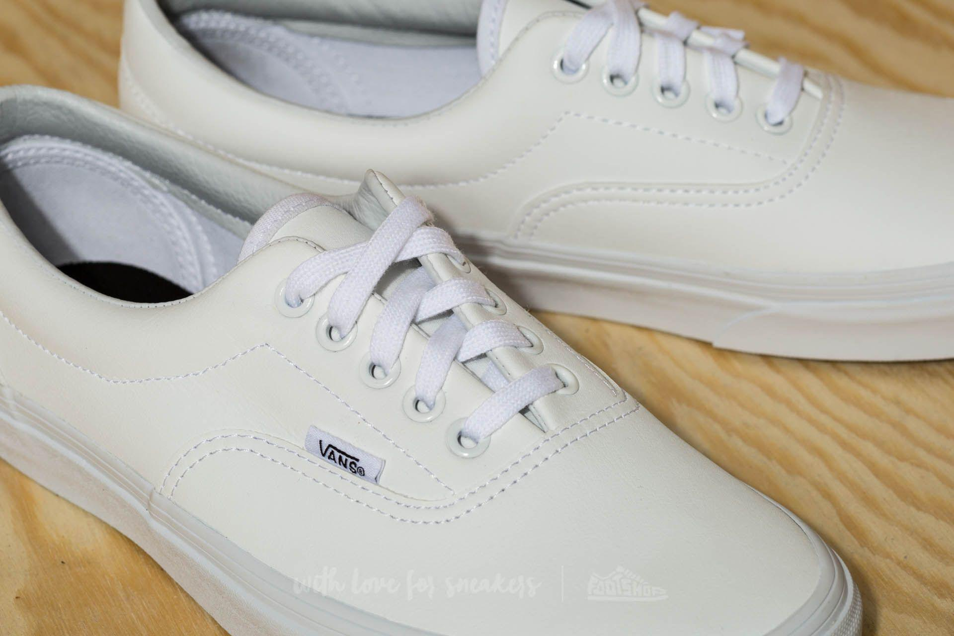 Lyst - Vans Era (classic Tumble) True White in White for Men 8adfde51d